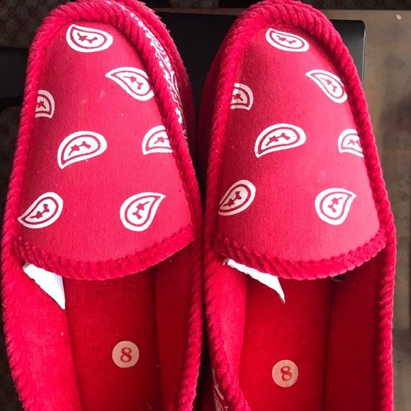 75ecab085b3 🎀HOST PICK🎀 Red   White Bandana  Slippers